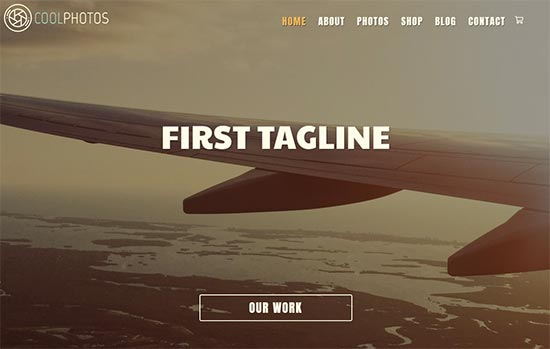 Art and Photography html website template